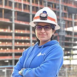 Helix Employee Clari Arevalo portrait
